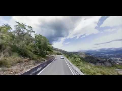 Street View tour of Monte Cassino 0484m part of the Giro d'Italia 2014
