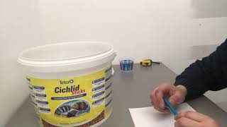 Обзор Корм для рыб в аквариумTetra Cichlid Sticks, гранулы, КАК сэкономить!