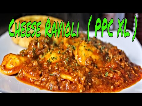 Cheese Ravioli in meat sauce  ( PPC XL )