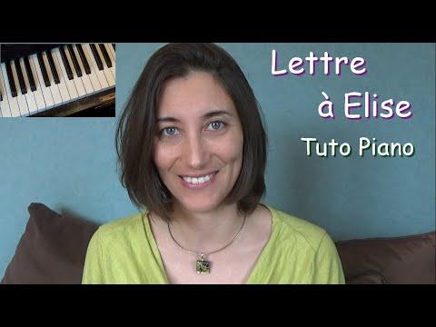 Tuto Piano Lettre à Elise De Beethoven Intermédiaire