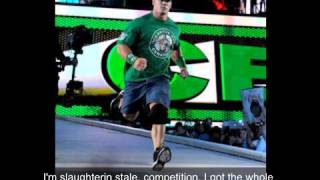 John cena The Time Is Up Theme Song With Lyrics