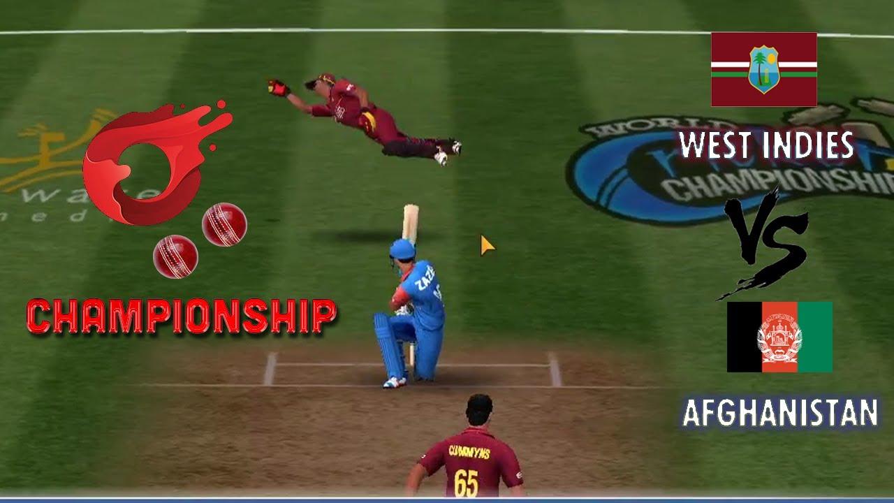Afghanistan vs West Indies - O2 Championship Season 2 - World cricket championship 3 WCC Tournament
