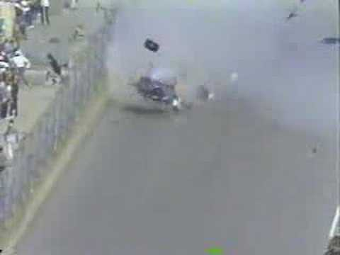 Richard Petty S 1988 Daytona 500 Flip Live Youtube