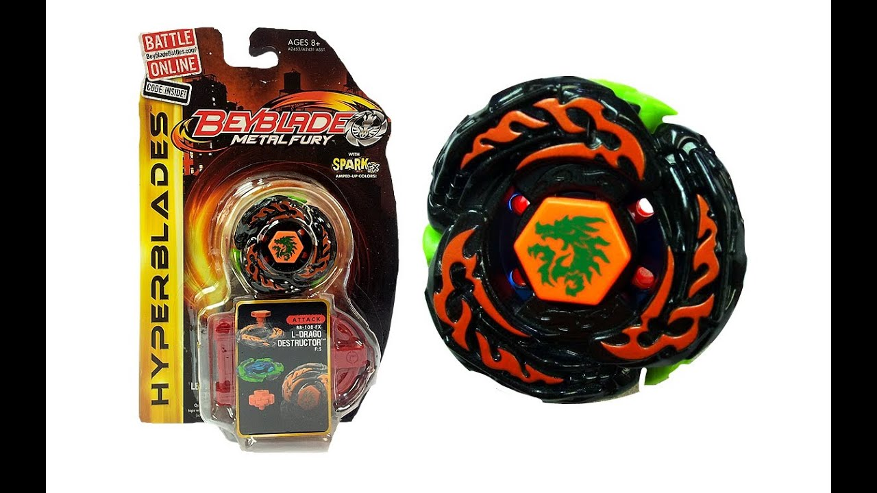 Uncategorized Beyblade L Drago Destroy closed beyblade metal fury hyperblades l drago destructor unboxing giveaway exp jan 20th youtube