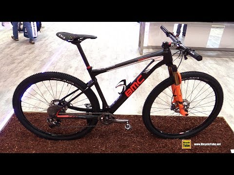 2018 BMC Team Elite 01 BMC MTB Racing Team Bike - Walkaround - 2017 Eurobike