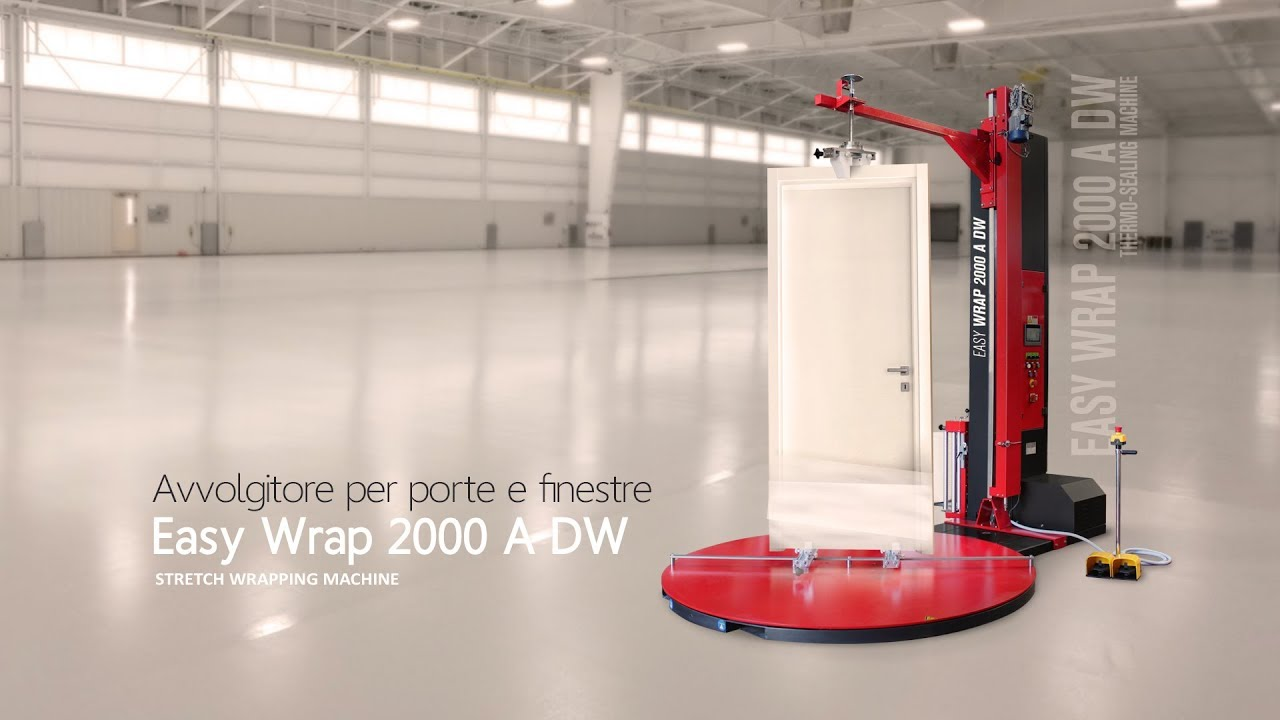 Www Bartocci Porte Finestre It wrapping machine for wrapping doors and windows | isg pack