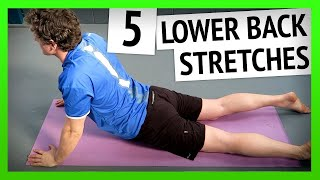 Lower Back Stretches To Relieve Back Pain [Ep41]