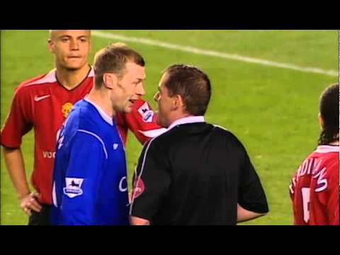 Everton v Manchester United Highlights (2005) Duncan Ferguson
