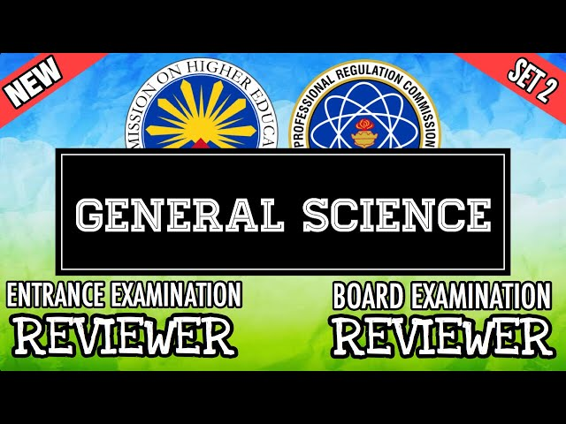 Entrance Exam Reviewer Common Questions With Answer In