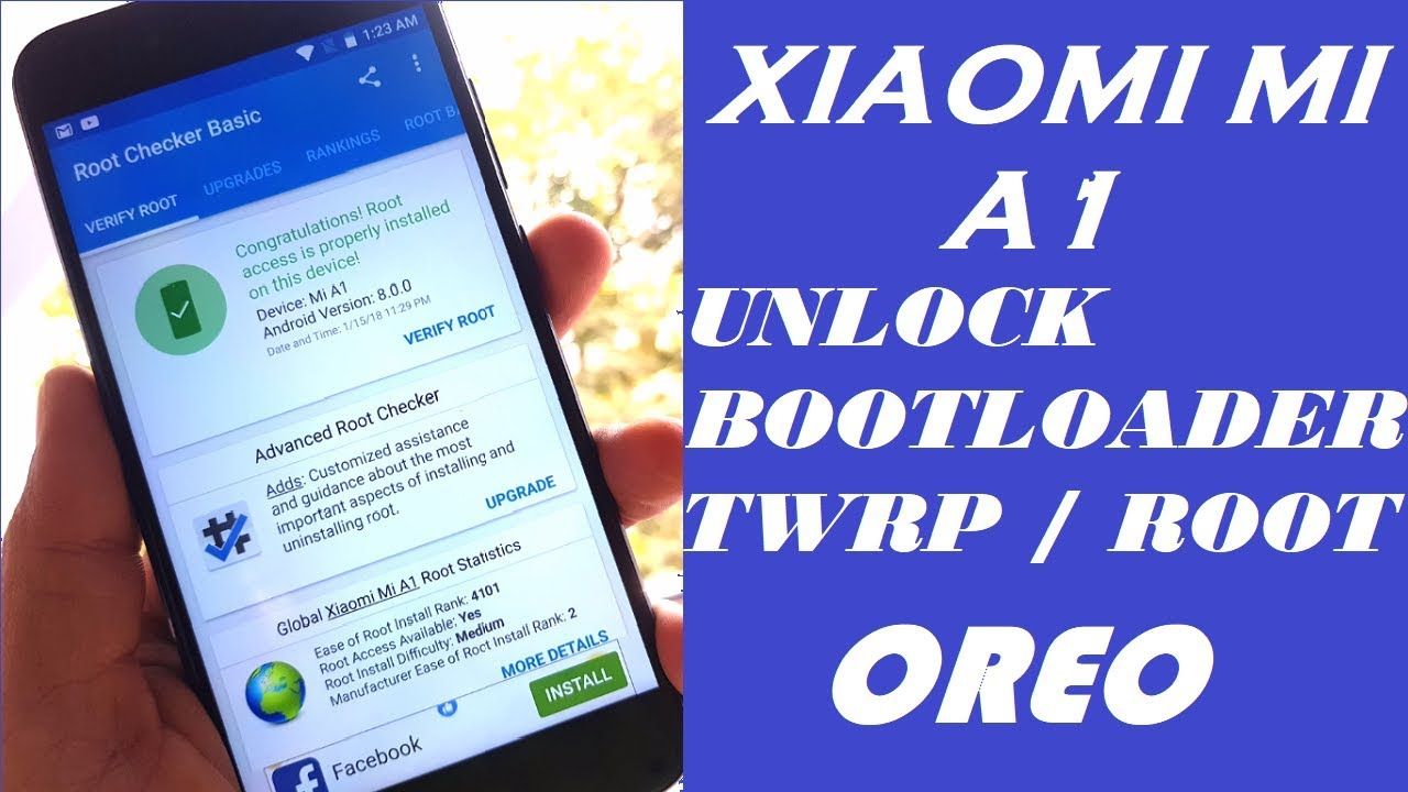 XIAOMI Mi A1 Oreo 8.0 | Unlock Bootloader |Flash Twrp | Root with Magisk |