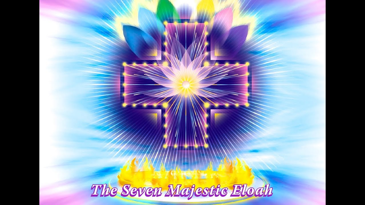 The 7 Great Eloah Divine Counterparts Of Seven Mighty Elohim And Their Gift Love