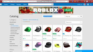 Lista de 2007 Roblox chapéus no catálogo (parte 1)