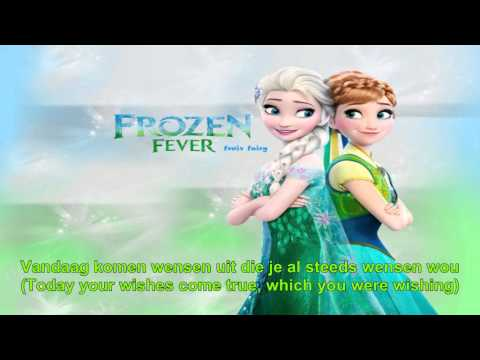 Frozen Fever - Making Today A Perfect Day (Dutch) Subs+Trans