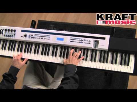 Kraft Music - Casio Privia Pro PX-5S Stage Piano Demo with Mike Martin