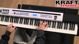 Kraft Music - Casio Privia Pro PX-5S Stage Piano Demo with Mike Martin