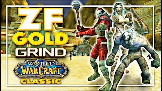 WoW Classic - Revisiting ZF - 70 Gold/Hour? - 1 Hour with Frostadamus in Zul Farrak