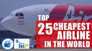 Top 10 Airlines - Top 25 cheapest International airline in the world by cost per mile I Report - Rome2rio