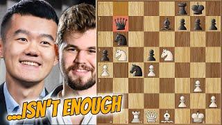When Even Brilliant... || Ding vs Carlsen || Magnus Carlsen Grand Final (2020)