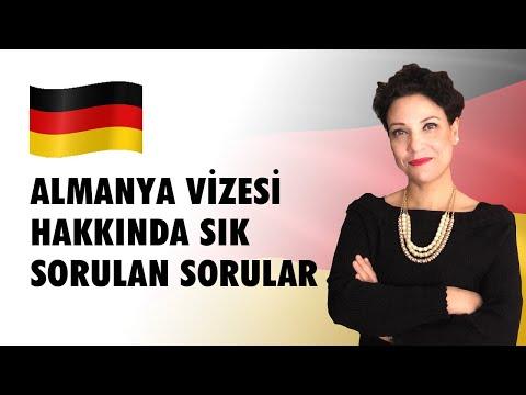 Almanya Vizesi Hakkında Sık Sorulan Sorular