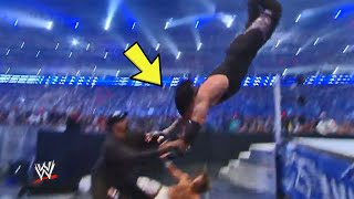 10 Dangerous Bumps WWE Wrestlers Took Horribly Wrong & Regretted