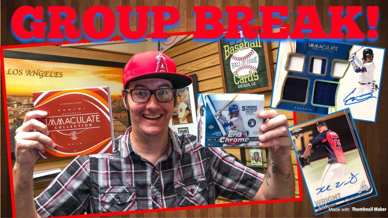 Group Break 2019 Premium Baseball Mixer