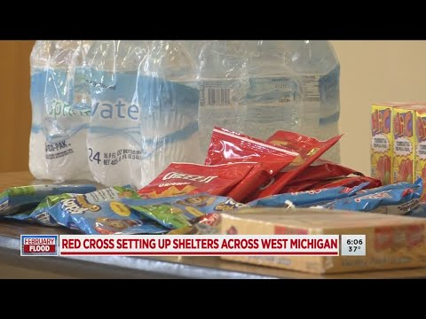 Red Cross opens emergency shelters in response to flooding