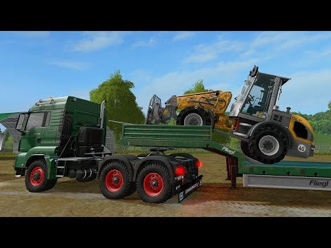 Farming Simulator 17 - Forestry and Farming on The Valley The Old Farm 076 thumbnail