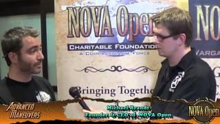 NOVA Open 2014 - Interview With Michael Brandt