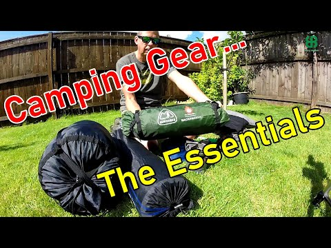 Camping Gear - The Essentials #170