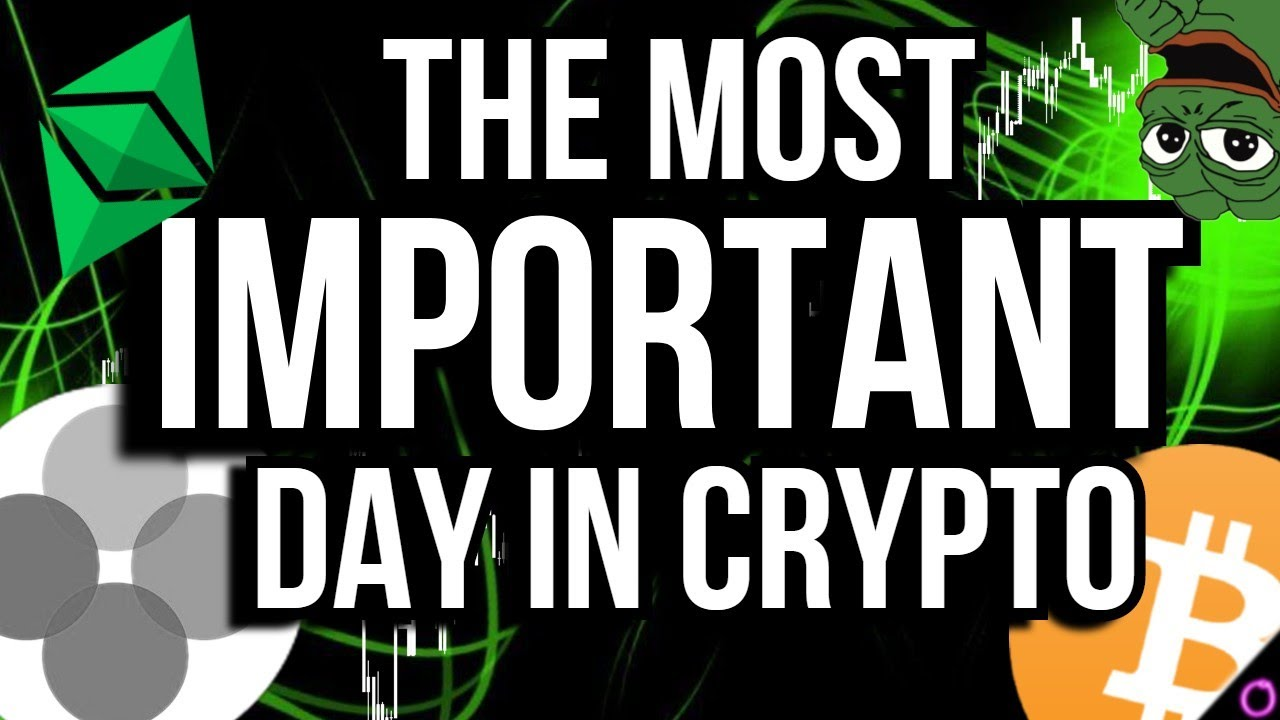 MUST WATCH - The MOST important day for crypto is coming
