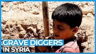 Exclusive: Syria's child gravediggers