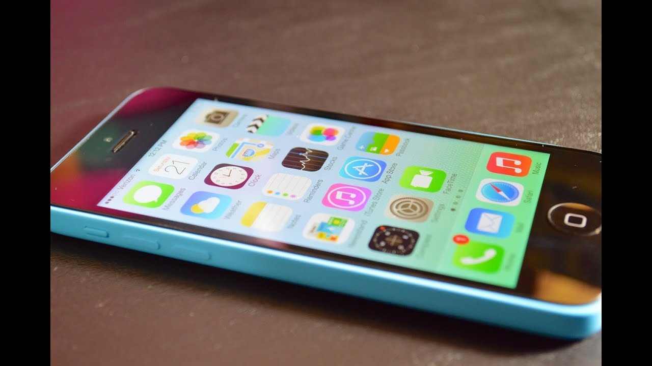 NEW iPhone 5c (Blue): Unboxing & First Look! - YouTube