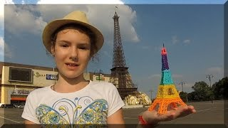 Эйфелева башня. #EiffelTower  С помощью 3D ручки.(Как сделать 3d ручкой Эйфелеву башню. Подпишитесь на наш канал и Вы никогда не пропустите новые уроки: https://www...., 2016-07-02T05:40:34.000Z)