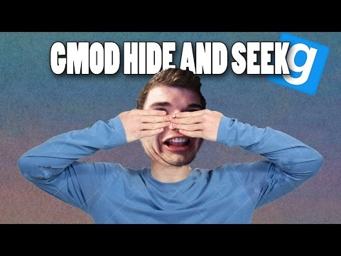 GMOD Hide & Seek Funny Moments - Anus Tunnel, Daithi de Girlgamer & The Strongest Bucket Ever