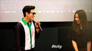 Video Crazy T.O.P with Shin Se-Kyung at Seoul Tazza2 Cinema Greeting download MP3, 3GP, MP4, WEBM, AVI, FLV Maret 2018
