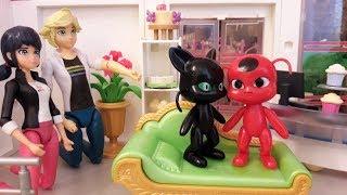 """Тикки полюбила Плагга? Видео из игрушек """"Леди Баг и Супер-Кот"""""""