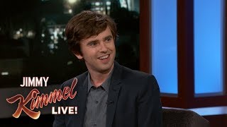 Freddie Highmore Wouldn't Be a Very Good Doctor