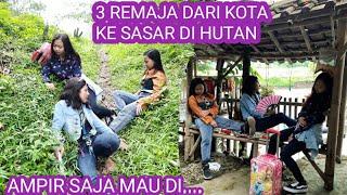 Tiga Remaja Nyasar Di Hutan Mau Mencari Vila,Ketemu Bank Emok Film Sunda Lucu Kocak,Tasikmalaya