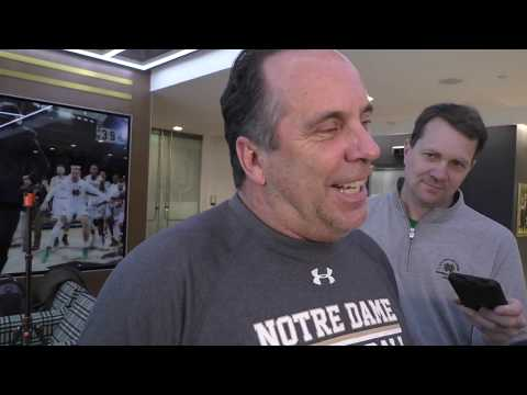 Mike Brey On Team Morale After Road Win Over Syracuse
