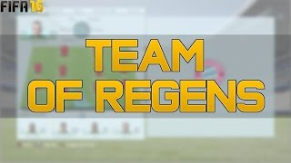 FIFA 16 Career Mode - Team of Regens Feat. Ronaldo + Messi Regen