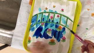 Monet Bridge Lesson video 2of 2