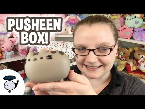 PUSHEEN BOX DEC 2015 - OMG SO EXCITED!!!!