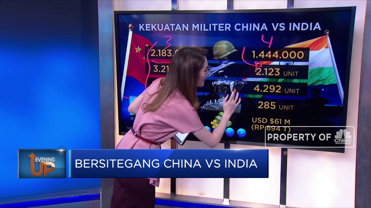 Bersitegang China vs India