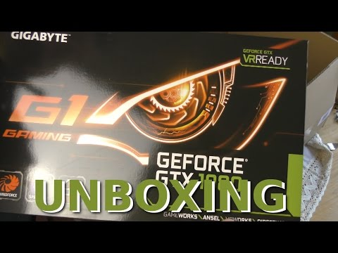 GIGABYTE Grafikkarte NVIDIA GeForce® GTX 1080 8GB ;_) GDDR5X GAMING-8G