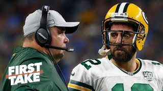 Aaron Rodgers saw that Mike McCarthy couldn't adapt his coaching style - Max Kellerman | First Take