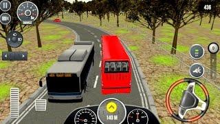 Bus Simulator 2017 #1- Bus Simulator Games Cars Racing | Bambi Tv - Android GamePlay FHD