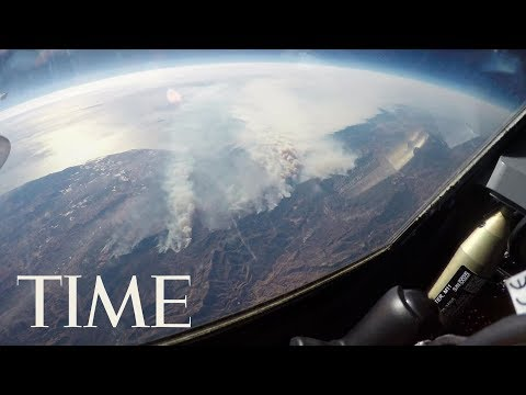 California Wildfires Astonishing Aerial Footage From Space | TIME