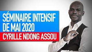 Séminaire intensif mai 2020 : Sauver le monde ou faire évoluer la société (Cyrille Ndong Assou)
