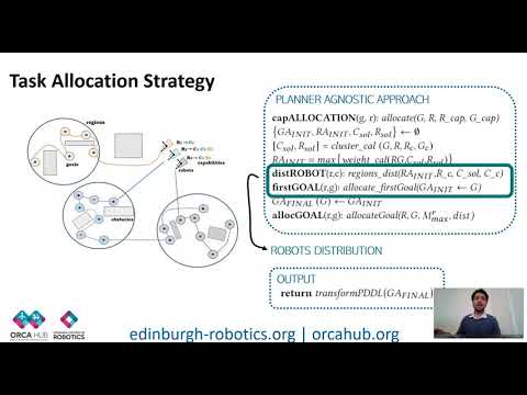 """ICAPS 2020: Carreno et al. on """"A Decentralised Strategy for ..."""