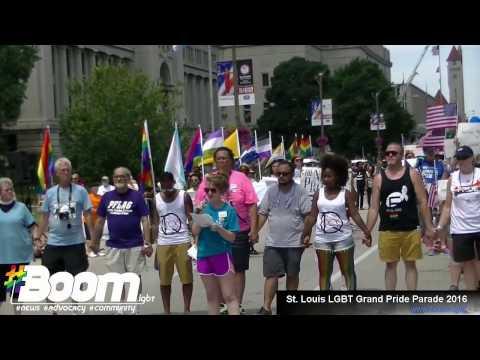 Mallinckrodt Pharmaceuticals St. Louis Grand LGBT Pride Parade 2016 (full video)